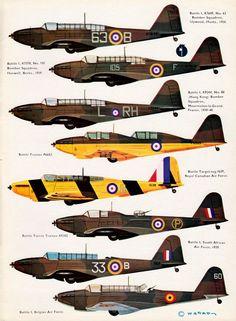 Profile N°34 - Fairey Battle  http://maquettes-avions.hautetfort.com/archive/2011/03/06/profile.html