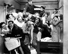 The Marx brothers  A night at the Opera. Fav scene from the film.