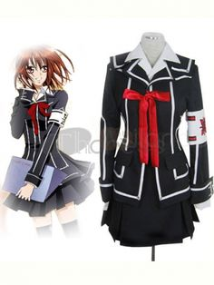 If you want to experience the feeling of being day class girl in this Vampire Knight, this cosplay costume will be your best choice.
