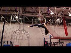 Beginner Hoop Sequence after 8 weeks | Aerial Hoop | Aerial Arts - YouTube