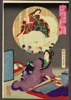 Chikanobu (1838-1912): a courtesan