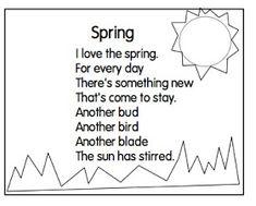 Poems Springtime 1