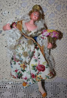 Wonderful Cloth Layna Doll 1950s