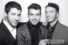 The Jonas Brothers (reunited for one night)