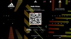 84.Paris et Dcontract ont fait équipe pour proposer une expérience interactive pour le lancement de la nouvelle collection Adidas Speed of Lights. Le Stadium of Lights Adidas montre le futur du footb...