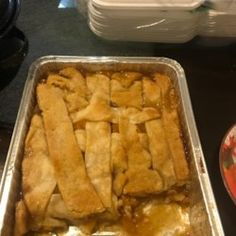 Flaky pastry enclosing peaches flavored with lemon and orange juice and spiced with nutmeg and cinnamon. Old Fashioned Peach Cobbler, Peach Cobblers, Cobbler Recipe, Flaky Pastry, Pastry Blender, Playlists, Delicious Desserts, Homemade