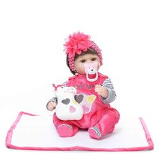 2016 New Style 17 Inch Silicone Babies Alive Soft Toys Reborn Baby Doll Kids Playmate Gift For Girls Bouquets Kids Birthday Gift #>=#>=#>=#>=#> Click on the pin to check out discount price, color, size, shipping, etc. Save and like it!