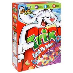 75 cents off 1 Trix Cereal Trix Cereal, Crunch Cereal, Cereal Boxes, Junk Food, Food Food, Box Art, Vintage Ads, General Mills, Playground