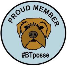 Adventures with Rohan the Border Terrier: BTposse Badge