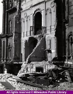 Requiem: Milwaukee County Courthouse, Milwaukee, Wisconsin. Demolished 1942.