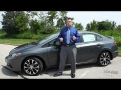 2013 Honda Civic Si Sedan Test Drive Review - YouTube  www.stlouishonda.com