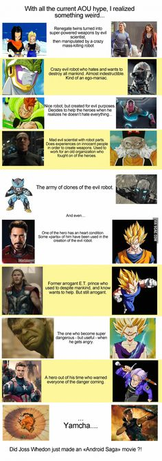 "Here's The Proof That ""Avengers: Age Of Ultron"" And ""Dragon Ball"" Are The Same Thing!"