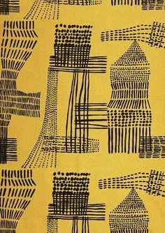 Terrence Conran/David Whitehead Furnishing fabric, screen-printed cotton UK 1950