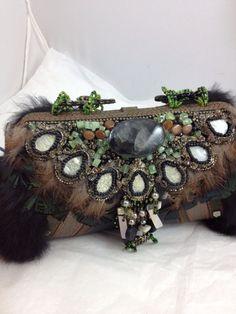 Mary Francis Handmade Designer Bag от QueenMarcyOriginals на Etsy