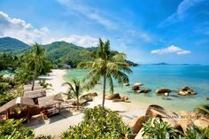 Crystal Bay Beach on the east coast of Koh Samui between Lamai and Chaweng. More Samui beaches here: