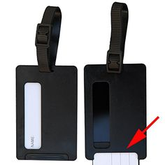 Travel Smart with aGreatLife Secure Luggage Tags, 2 Pack aGreatLife http://www.amazon.com/dp/B00XHTQAY6/ref=cm_sw_r_pi_dp_PfbIvb1Z62GZG