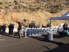 Granite Mountain Hotshot Memorial State Park Dedication Ceremony.