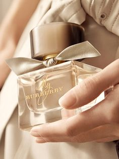 Make the fragrance your own with the My Burberry monogramming service