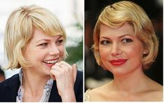 Michelle Williams bob, summer, 2008