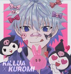 Hunter X Hunter, Hunter Anime, Killua, Animes Yandere, Fanarts Anime, Anime Characters, Zoldyck, Wallpaper Fofos, Gothic Anime