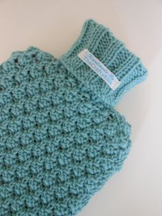 Chunky Knit Scarves Patterns : Crochet : Hot Water Bottles Covers on Pinterest Hot Water Bottles, Granny S...