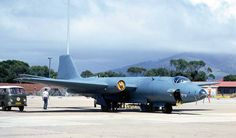 ☆ South African Air Force ✈Canberra B.2 - 457 at Ysterplaat AFB Cape Town