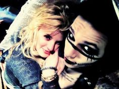 Andy Sixx and Juliet Simms