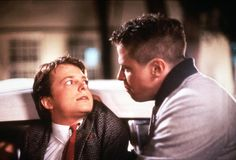 """""""300 bucks damage to my car, you son of a bitch. And I'm gonna take it out of your ass. """" - Biff Tannen, Back to the Future"""