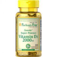 Vitamine D3 minstens 50 mcg per dag voor volwassen persoon 3,75