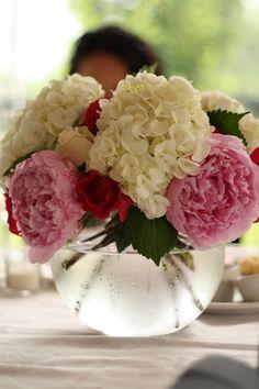 Summer Floral Centrepiece | Wedding Flowers 2015