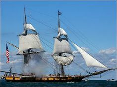 History came to life at the Lake Erie Islands. The Battle of Lake Erie Bicentennial reenactment was September 2, 2013 in Lake Erie around Put-in-Bay Island, Ohio. Photo via @Aaron Toledo Blade.
