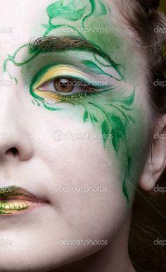 elf/fairy makeup
