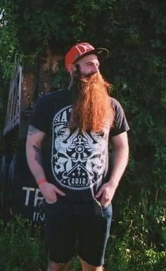 Beard Boy, Red Beard, Ginger Beard, Great Beards, Awesome Beards, Hairy Men, Bearded Men, Long Beard Styles, Hipster Beard