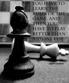 Game Rules Albert Chess motivation inspiration quote