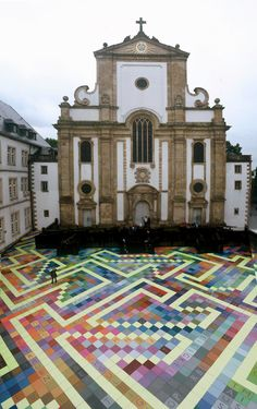 Campo Santo (Labyrinth), in Germany, by Horst Glaesker (2007)