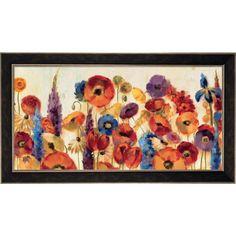 Silvia Vassileva 'Joyful Garden' Framed Art