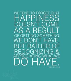Happiness quote.