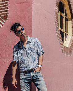 Sunday feels on a Monday in an appropriately-tropical shirt from @argyleculture | @azusatakano  #argyleculture #jcpenney #ootd #ootdmen #menswear #asianstyle #gaysian #streetstyle #dope #swag #outfitoftheday #vsco #portrait http://ift.tt/2sxfaAm #Instagram #Photography