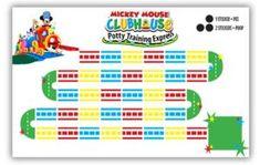 Free Printable Friday - Mickey Mouse Potty Training Express Potty Chart