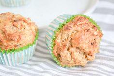Griekse Yoghurt Muffins met Courgette & Havermout