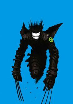 Wolverine by Tsutomu Nihei