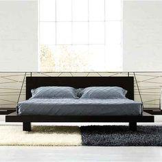 Italian modern contemporary Harris Contemporary Bed By Doimo