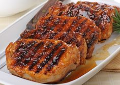 Delicious recipe for Honey Glazed Pork Chops you can make right on your George Foreman Grill. This recipe is very easy and can be prepared in just a few minutes!