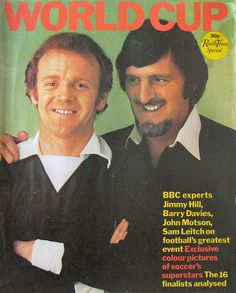 Radio Times World Cup Special Cover 1974. Wanna go back to my place?