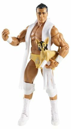 """WWE Elite Collector Alberto Del Rio Figure Series 12 by Mattel. $23.99. Elite Collection Series #12 features authentically sculpted 7"""" figure. Kids can recreate their favorite WWE matches. Perfect for WWE fans and collectors of all ages. Bring home the officially licensed WWE action. Features deluxe articulation, amazing detail, and authentic accessories. From the Manufacturer World Wrestling Entertainment Elite Collection Series #12: Capturing all the actio..."""