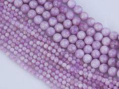 Geniune Kunzite Gemstone Beads AA Grade Pink Kunzite by OverBeads