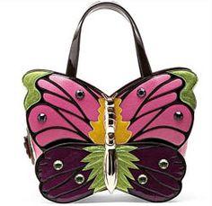 Braccialini butterfly Handbag
