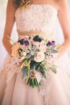 Love this beautiful wedding bouquet ~ Elisa and Tims Australian Country Wedding