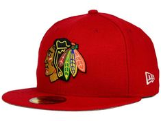 reputable site 3f6fd 8a7c6 Chicago Blackhawks New Era NHL Stanley Cup Champ Collection 59FIFTY Cap