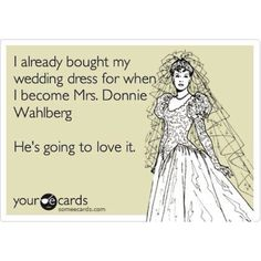 NKOTB ~ Donnie Wahlberg I should wear it on the boat so the Captain can marry us -Rosie S!